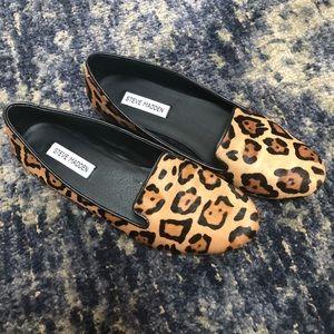 84053565a1d Steve Madden Shoes - Steve Madden Leopard Calf Hair Croquet Loafers 9.5